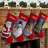 Personalized Needlepoint Christmas Stockings - Winter Charm - 17317