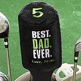 Personalized Golf Club Cover - Best. Dad. Ever. - 17319