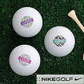 Sassy Lady Personalized Golf Ball Set - 17322