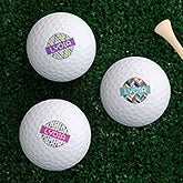 Personalized Women's Golf Ball Sets - Sassy Lady - 17322