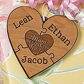 Personalized Gift Topper - We Love Her To Pieces - 17334