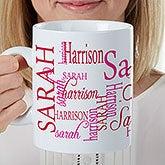 Personalized Oversized Coffee Mugs - 30oz Mug For Her - 17336