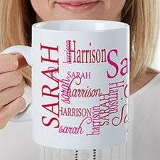 Personalized Oversized Coffee Mugs - 30oz Mug For Her - 17336