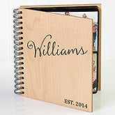 Family Established Personalized Photo Album - 17367