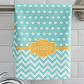 Monogram Hand Towels - 4 Preppy Chic Designs - 17373