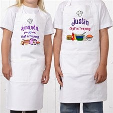 Personalized Kids Aprons - Junior Chef Design - 1742