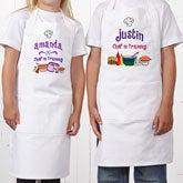Personalized Kids Aprons - Junior Chef Design - 1742