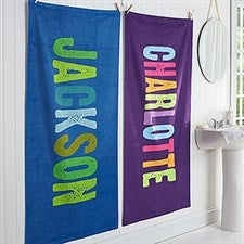 Personalized All Mine! Bath Towel For Kids - 17465