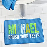 Personalized Kids Memory Foam Bath Mat - All Mine! - 17502