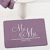 Personalized Wedding Bath Mat - 17505