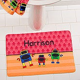 Personalized Kids Bath Mats With Names - For Boys - 17508