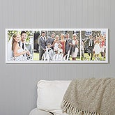 Wedding Photos Personalized Canvas Print - 17523