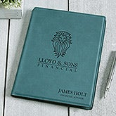 Personalized Logo Teal Junior Notepad - 17546
