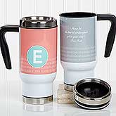 Personalized Travel Mug - Sophisticated Quotes - 17557
