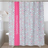 Personalized Shower Curtain - Geometric - 17577