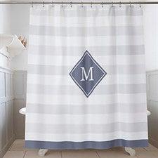 800cb1e900d Personalized Shower Curtain 72x84 - Wamsutta Baratta - For The Home