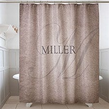Personalized Shower Curtain 72x84