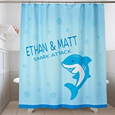 Personalized Shower Curtain - Sea Creatures - 17583