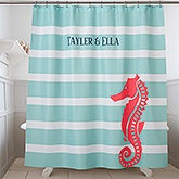 Personalized Shower Curtain - Nautical - 17584
