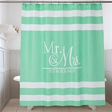 Personalized Shower Curtain - Wedded Pair - 17588