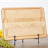 Classic Kitchen Personalized Maple Cutting Board - 17594