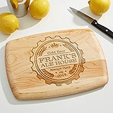Personalized Bar Cutting Board - Premium Brew - 17597