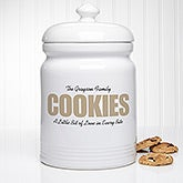 Personalized Cookie Jar - COOKIES - 17599
