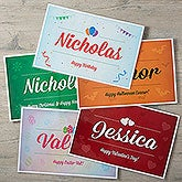 Personalized Kids Placemats - Choose Your Celebration - 17608