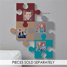 Personalized Photo Wall Puzzle Piece - 17661