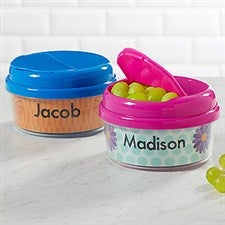 Customized Snack Cups With Lids - Personalized Just For Them - 17672