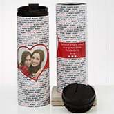 Photo Travel Tumbler - Love You This Much - 17674