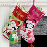 Personalized Disney Stockings Mickey & Minnie - 17689