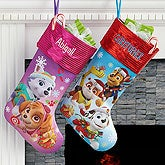 Personalized PAW Patrol Christmas Stockings - 17690