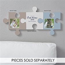 Personalized Romantic Wall Puzzle Pieces - Romantic Quotes - 17698