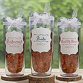 Personalized Bridal Party Flip 'N' Sip Tumbler - Bridesmaid On The Go - 17711