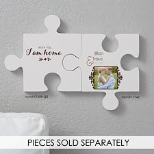 Personalized Romantic Photo Wall Puzzle - Two Names - 17742