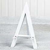 White Wood Easel - 17743
