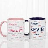 Personalized Name Coffee Mug - Hello! My Name Is - 17754