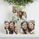 Personalized Photo Shelf Blocks - 17797