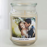 Our Wedding Photo Candle | Personalized Candles - 17799