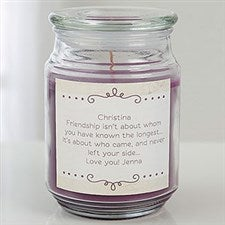 Personalized Candle - Write Your Own Message - 17800