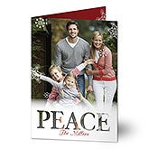 Personalized Photo Cards - Holiday Greetings - 17826