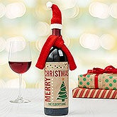 Personalized Wine Bottle Labels - Christmas Wine - 17828