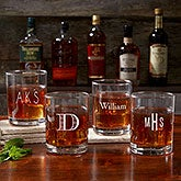 Personalized Old Fashioned Glass Collection - Classic Celebrations - 17834