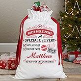 Personalized Santa Bag - Special Delivery - 17846