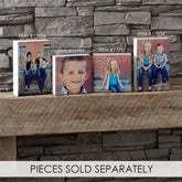 Personalized Photo Rectangle Shelf Blocks - 17854