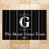 Mayer Gross Team Personalized Corporate Doormat- Logo - 17886