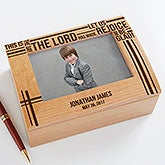 Personalized First Communion Keepsake Box - 17899