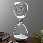 Personalized Hourglass Teacher Appreciation Gift - 17903