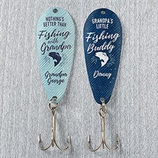 Personalized Fishing Lure Set - Grandfather Fishing Gift - 17913